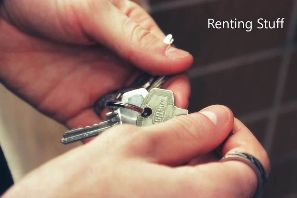 Renting-Items