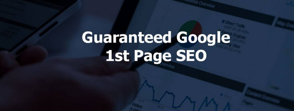 Guaranteed First Page Ranking